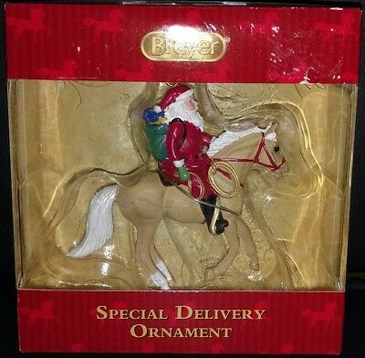 NEW! Breyer Special Delivery 2017 Christmas Ornament Palomino