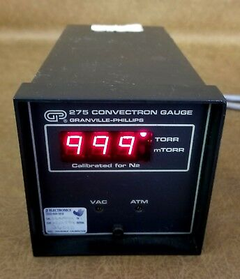 Granville Phillips 275 Convectron Gauge Black 115 VAC 50-60Hz 10 Watts [JC]