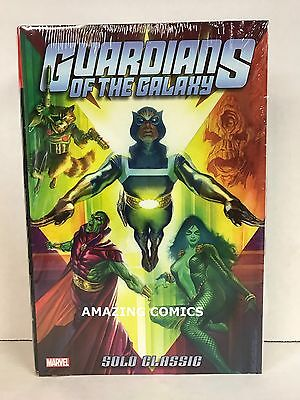 Marvel GUARDIANS OF THE GALAXY SOLO CLASSIC OMNIBUS Hardcover HC NEW - MSRP $125