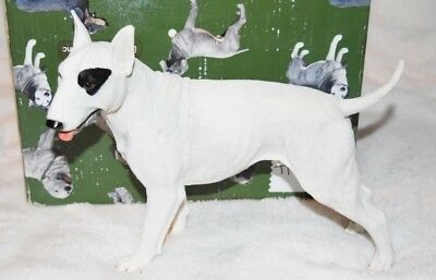 Bull Terrier Dog Figurine Resin Statue New in box