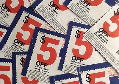 Bed Bath and Beyond coupons ~ LOT OF 10!!  (8) 20% off & (2) $5 OFF $15