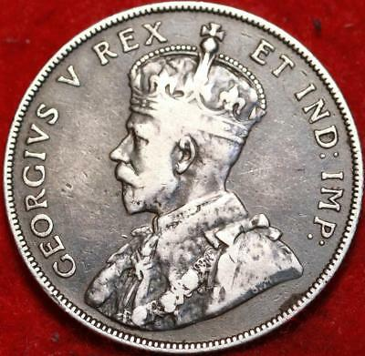 1911 Canada 50 Cents Silver Foreign Coin