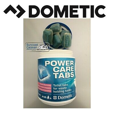 Dometic Power Care Tabs Holding Tank Deodorizer Porta Potti Toilet - Like Walex