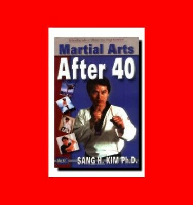 Book:martial Arts After 40-Proper Form,moves Exercises For Older People,karate