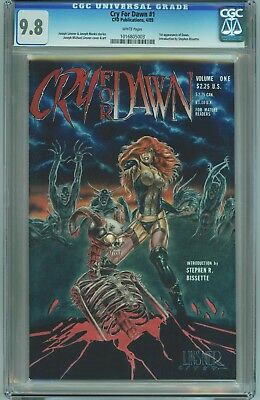 CRY FOR DAWN #1 CGC 9.8 WP Highest Graded CFD 4/89 JML Linsner 1st Print 1st app