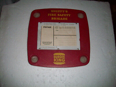 RARE 16mm Color Sound Snuffy's Fire Safety Brigade Burger King Film 1977 600 FT.