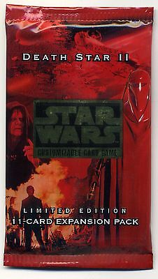Star Wars Ccg Death Star Ii Factory Sealed Booster Pack