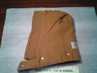 Carhartt Hoodie Snap On Insulated Detachable Hood Coveralls A02BRN Brown HQ06