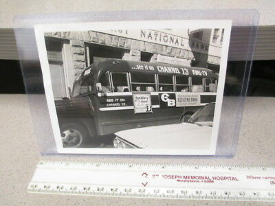 KVAL TV Channel 13 Eugene OR bus sign photo Huckleberry Hound Kelloggs cereal