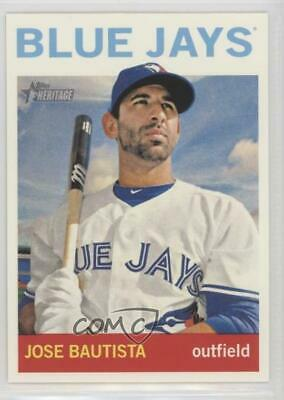 2013 Topps Heritage #89.1 Jose Bautista (Bat on Shoulder) Toronto Blue Jays Card