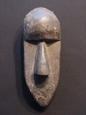 Very Fine Early Toma Liberia Maskette - First Half 20Th C. - Genuine Encrusted
