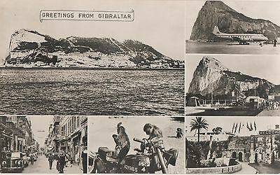 POSTCARD GIBRALTAR  Greetings