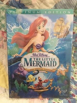 The Little Mermaid Disc Special Edition Platinum DVD Disney