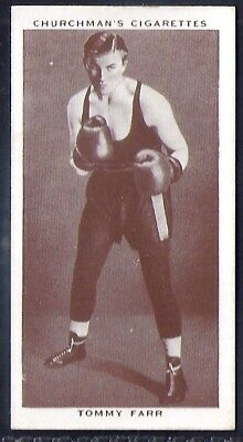 Churchman-Boxing Personalities-#15- Tommy Farr