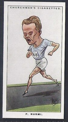 Churchman-Men Of The Moment In Sport-#04- Running - Nurmi