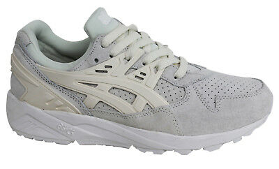 5ce6e702a89 ASICS GEL KAYANO Trainer Cream White Birch Suede Mono Low Top Lace ...