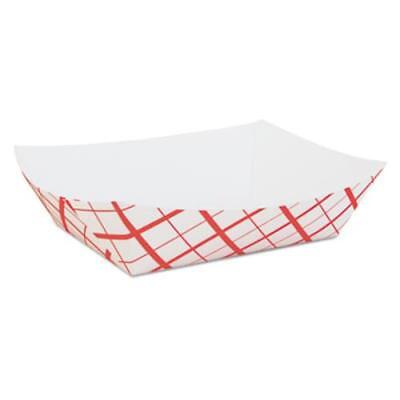 Southern Champion Tray SCH0429 Paper Food Baskets, Red/white Checkerboard, 5 Lb