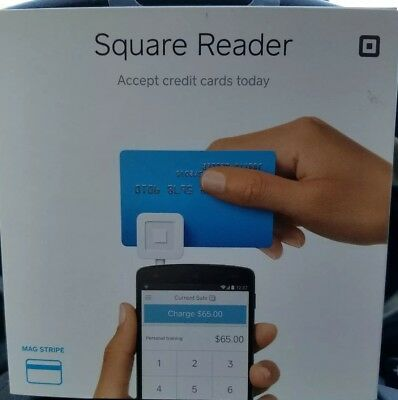 Square Credit Card Reader for iPhone, iPad and Android New Fast Ship