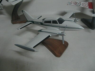Cessna 310R Airplane Desktop Wood Model