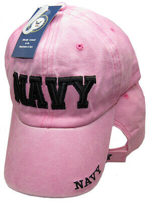 U.S. NAVY Letters Pink Embroidered Cap Hat CAP602DP (Licensed) TOPW