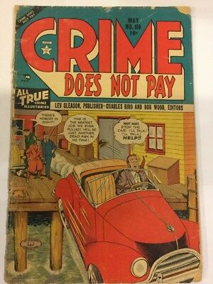 Crime Does Not Pay, #110, May 1952