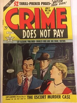 Crime Does not Pay, #89, July 1950