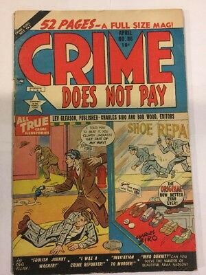 Crime Does Not Pay, #86, April 1950