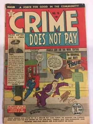 Crime Does Not Pay,#75, CANADIAN ISSUE