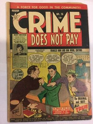 Crime Does Not Pay, #75, CANADIAN ISSUE