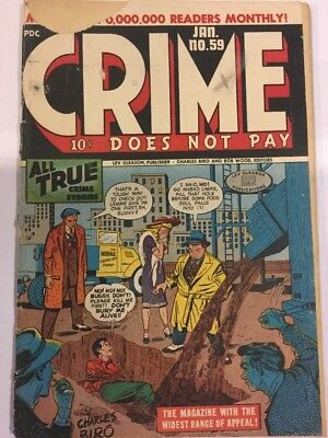 Crime does Not Pay, #59, Jan 1948