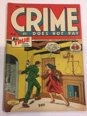 Crime Does Not Pay, #45, May 1946