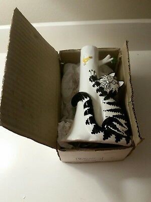 Kliban the Cat Candle Holder in Original Box Excellent  Condition