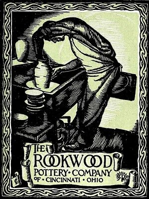 Rookwood Pottery Co. Art Poster