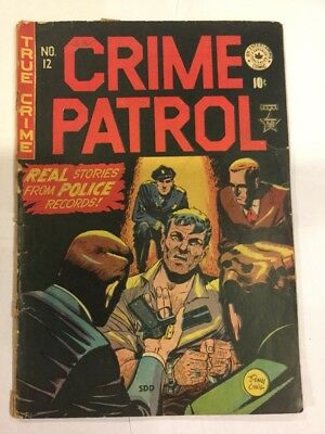 Crime Patrol, #12, CANADIAN ISSUE