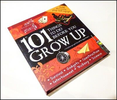 101 Things to do Before You Grow Up by Hinkler Books (Hardback, 2009)