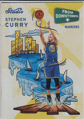 2016/17 Panini STUDIO FROM DOWNTOWN #FD1 STEPHEN CURRY Warriors CASEHIT RARE