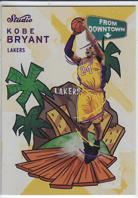 2016/17 Panini STUDIO FROM DOWNTOWN #FD18 KOBE BRYANT Lakers CASEHIT RARE