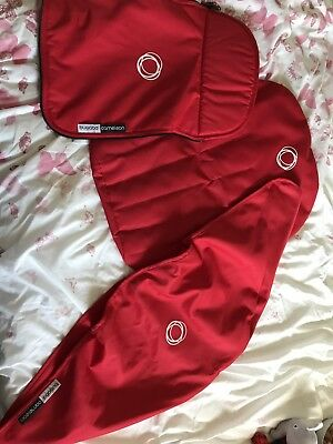 Bugaboo Red Set, Apron, Hood And Liner