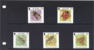 Isle Of Man Stamps 2001 - Bugs And Bees Presentation Pack M.n.h.
