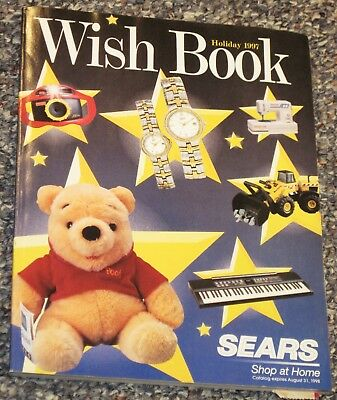 ~*~**~ Vtg 1997 SEARS WISH BOOK Christmas Catalog ~**~*~
