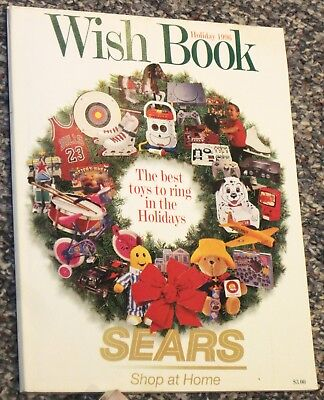 ~*~**~ Vtg 1996 SEARS WISH BOOK Christmas Catalog ~**~*~