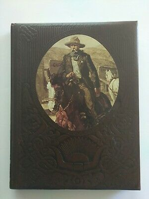 Time-Life Book The Gunfighter leather hard cover