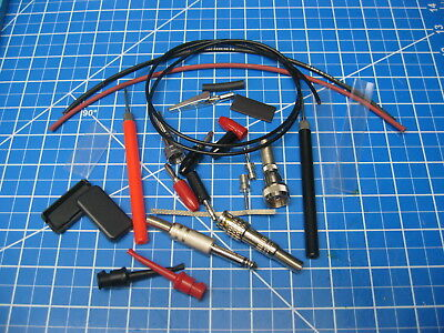 Custom Built Test Probes/Leads - Many Options - Made to Order - $7.50 and Up