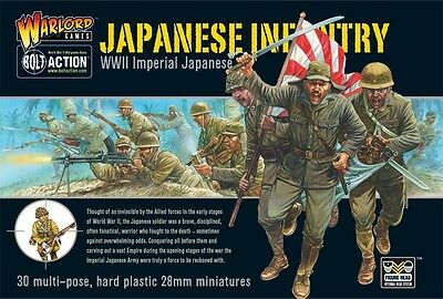 Warlord Games: Bolt Action Japanese Infantry (Plastic) WGB-JI-02 FREE SHIPPING