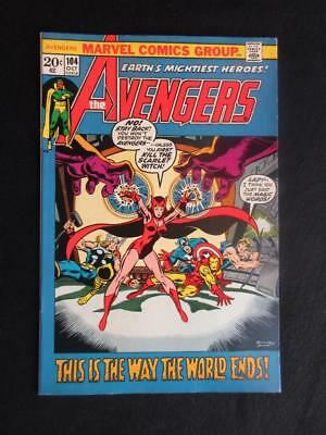 Avengers #104 MARVEL 1972 - NEAR MINT 9.0 NM - Captain America, Iron Man!!!!
