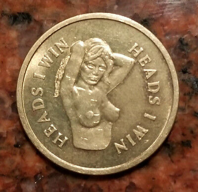 Vintage Heads & Tail Sex Token - #1710