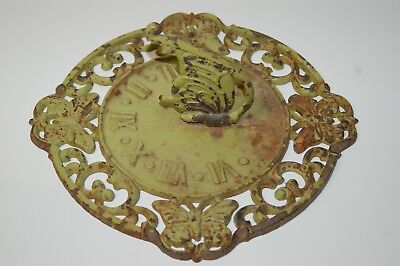 """Beautiful Vintage 11 1/2"""" Butterfly Sundial"""