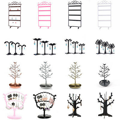 Ear Studs Earring Bracelet Display Rack Jewelry Holder Organizer Multi-Purpose