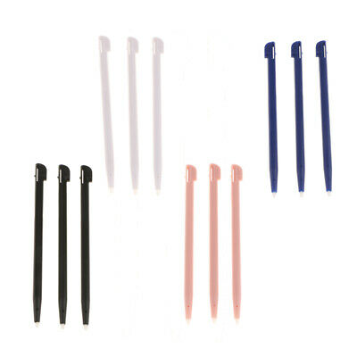 3 Piece Slot in Touch Screen Stylus for Nintendo 2DS Console