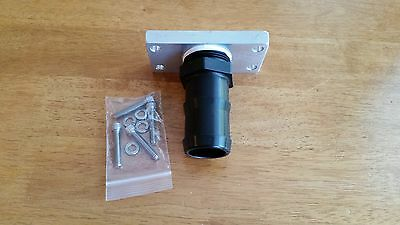 "Hardwood Floor Clark Super 7 Edger DCS Conversion 1 1/2"" Adapter"